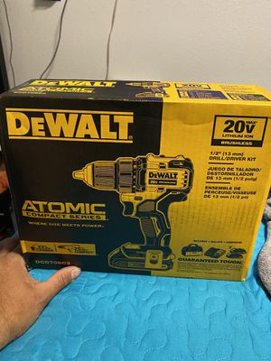 Dewalt atomic 2 battery and charger for Sale in San Jose, CA