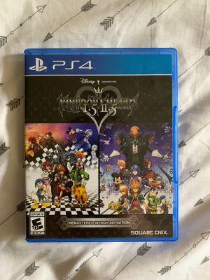 Kingdom Hearts HD 1.5+2.5 ReMIX for Sale in West Somerville, MA