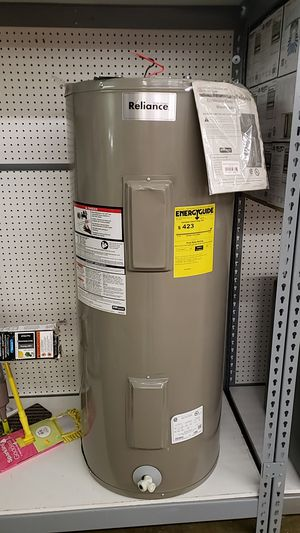 Reliance brand 40 gallon electric water heater for Sale in Kirkwood, MO
