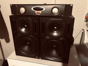 Studio Monitors & Amplifier for Sale in Washington, IL