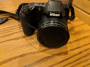 Nikon Coolpix L340 20.2 MP Digital Camera with 28x Optical Zoom and 3.0-Inch LCD (Black) for Sale in Edgewood, NM
