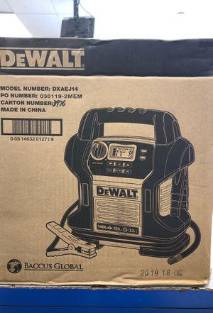 Dewalt jump pack for Sale in Tampa, FL