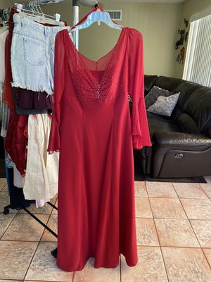 Red Prom Dress Size 14 for Sale in San Diego, CA