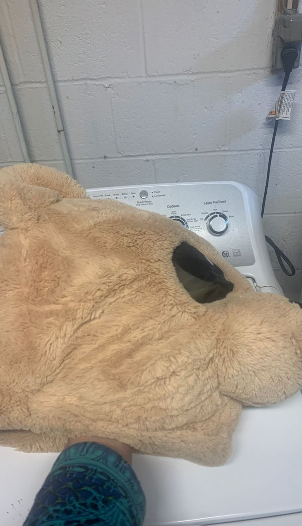 Bear head mask - used for photo booth props or costumes . Clean and in good shape.