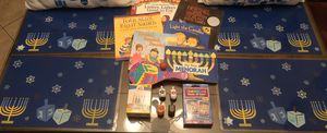 Hanukkah Bundle: Placemats, Books, Games, Candles etc. for Sale in Pembroke Pines, FL