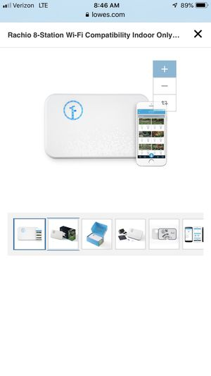 Rachio 8-Station Wi-Fi Compatibility Indoor Only irrigation system for Sale in Colorado Springs, CO