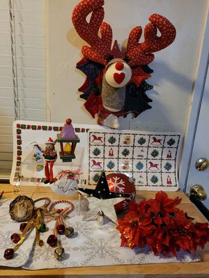 Lot of xmas decor and ornaments for Sale in Bakersfield, CA