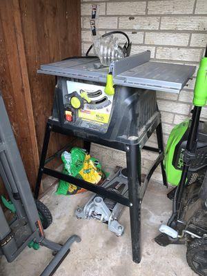 "Craftsman Evolv 10"" Table Saw for Sale in Arlington, TX"