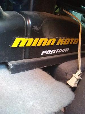 Minn Kota Pontoon trolling motor 54lbs thrust for Sale in Wichita, KS