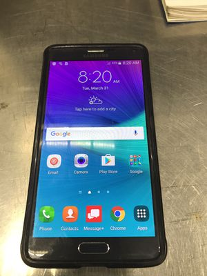 Samsung galaxy note 4 for Sale in Woodinville, WA