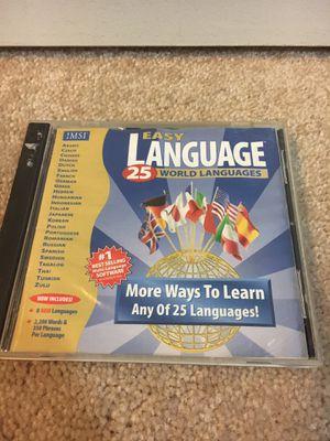 EZ Language 25 Languages software for PCs for Sale in Las Vegas, NV