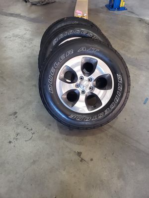 Jeep wheels and tires for Sale in Burbank, CA