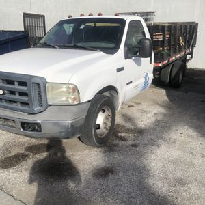 Ford F350 diesel flatbed 12 ft with Liftgate for Sale in Orlando, FL