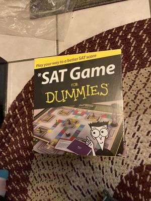 Unopened SAT for Dummies Game for Sale in Los Angeles, CA