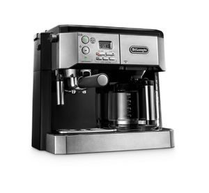 DeLonghi All-In-One 10-Cup Stainless Steel Espresso Machine and Drip Coffee Maker- NEW IN BOX for Sale in San Antonio, TX