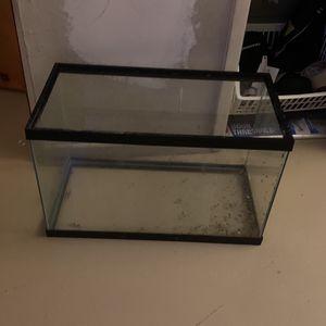 Fish Tank 10Gallon for Sale in Newport Beach, CA