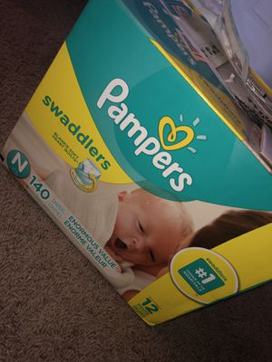 Baby Pampers diapers for Sale in West Palm Beach, FL