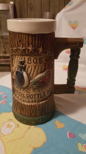 Ceramic bird & bottle Inn stein for Sale in Harrisonburg, VA