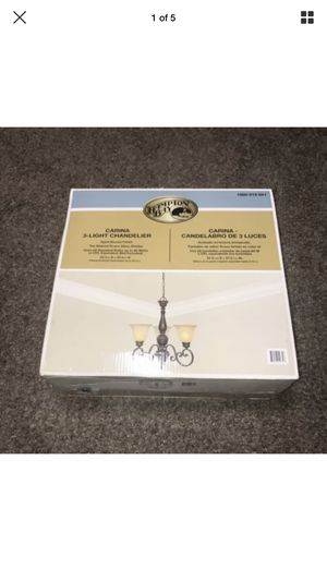 Hampton Bay Carina 3-Light Chandelier for Sale in Galloway, OH