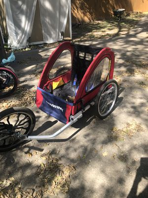 Bike trailer two passengers. for Sale in Fort Worth, TX