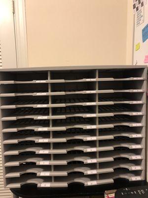 Storex 30 Compartment Literature Organizer for Sale in Destin, FL