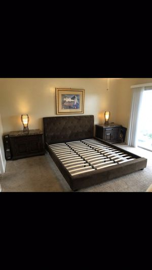 Cal King Bed Frane for Sale in Westminster, CA