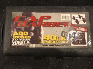 40 lb. Dumbbell Set w/ Case for Sale in Bethesda, MD