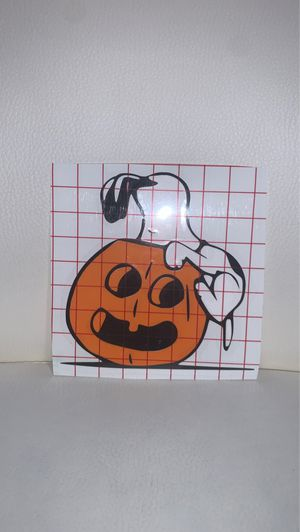 Snoopy Halloween Decal for Sale in Wells, ME