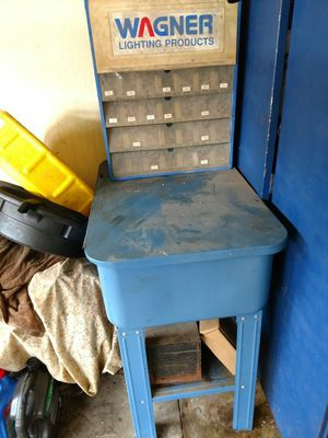 Wagner light bulb cabinet or can be used for other items. for Sale in Mason City, IA