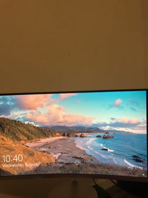 """27"""" Samsung Curved Computer Monitor Computer Screen for Sale in Fresno, CA"""