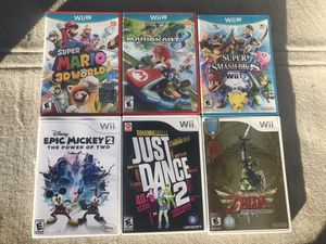 Nintendo Wii and Wii U Games for Sale in Ripon, CA