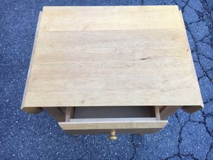 Extendable Nightstand or Laptop Table - solid wood for Sale in Falls Church, VA