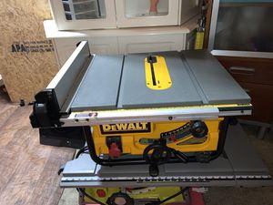 "DeWalt DWE7480 - 10"" Compact Job Site Table Saw for Sale in Anaheim, CA"