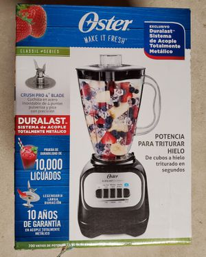 New Oster Classic Series 5 Speed Blender Black BLSTCP-B00 for Sale in Piscataway, NJ