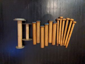 Vintage wooden spools for Sale in Columbus, OH
