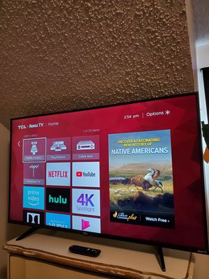 "TCL 43"" 4k roku smart tv for Sale in Lockhart, FL"