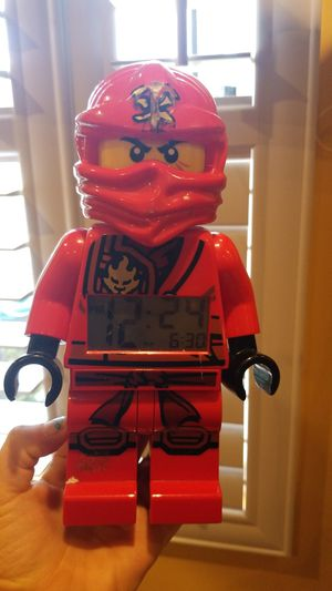 Ninjago lego clock for Sale in San Diego, CA