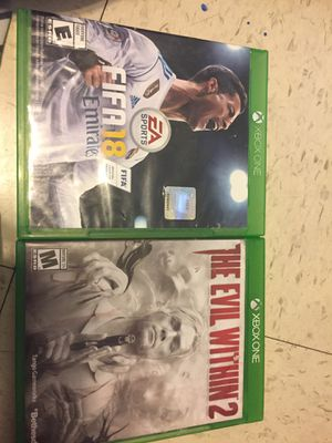 Make offer for both XBOX ONE GAMES for Sale in Phoenix, AZ