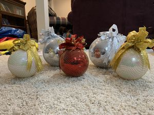 Extra large Christmas Ornaments for Sale in Berrien Springs, MI