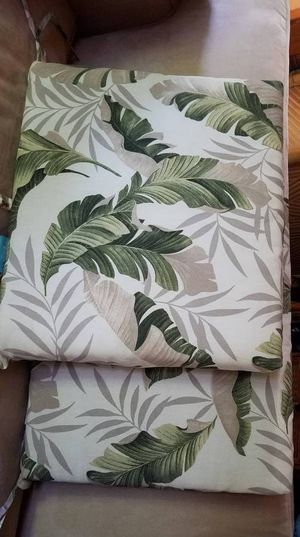 Tropical Seat Cushions Indoor/Outdoor for Sale in San Diego, CA