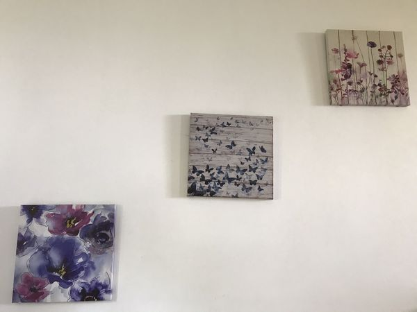 Home / Wall Decoration - Framed Paintings & IKEA Drill