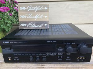 Yamaha receiver and Polk audio speakers for Sale in New Britain, PA