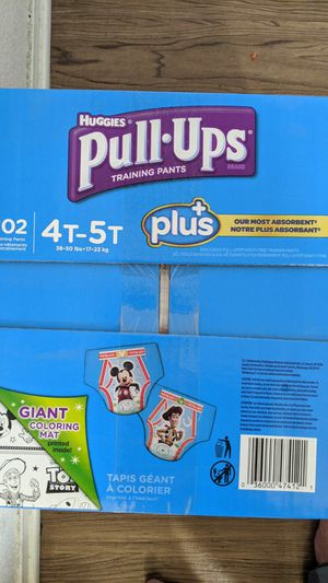 Huggies pull ups 102 count for Sale in Sunnyvale, CA