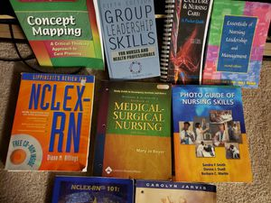 Nursing and other college books for Sale in Metairie, LA