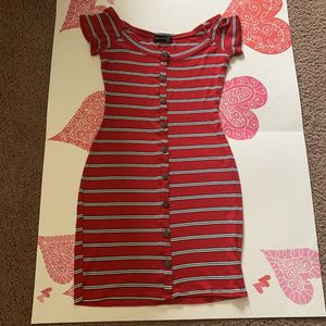 Striped dress size S for Sale in Shelby Charter Township, MI