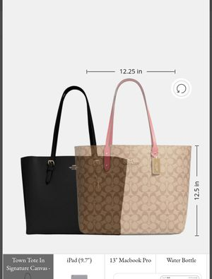 Coach tote large size for Sale in Los Angeles, CA