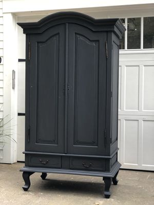 Gorgeous gray armoire for Sale in Battle Ground, WA