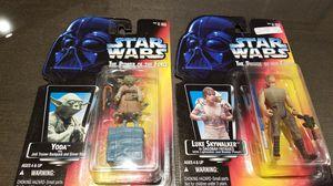Yoda and Luke Skywalker for Sale in Elma, WA