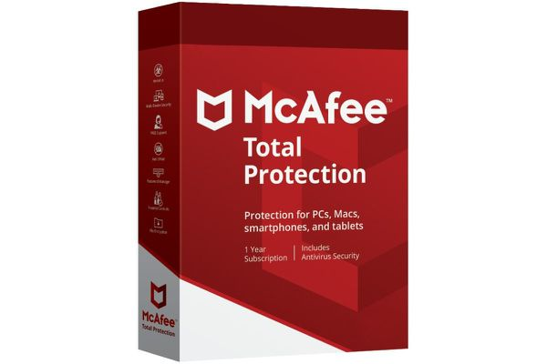 McAfee Codes for 1 device 5 years