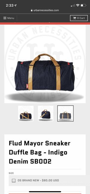 Flud Mayor Sneaker Duffle Bag for Sale in New York, NY